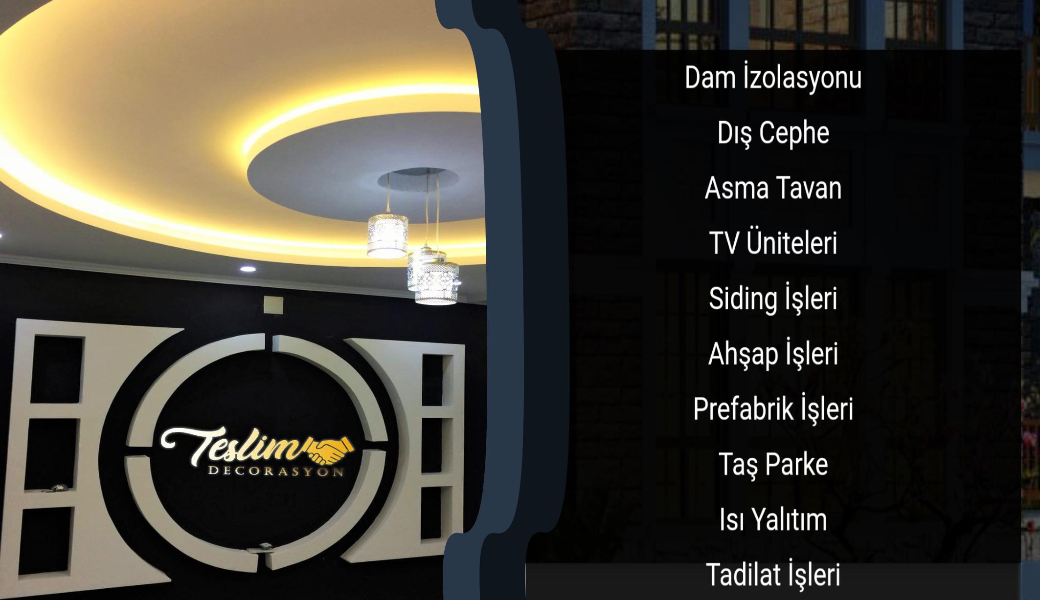 Teslim Dekorasyon Adana'da